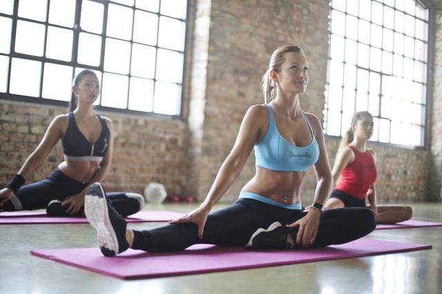 slap af med yoga